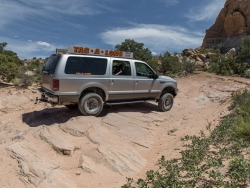Offroad im Arches National Park