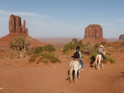 Trailride ins Monument Valley