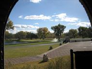 Tubac Golf Resort, Blick aus Stables Restaurant