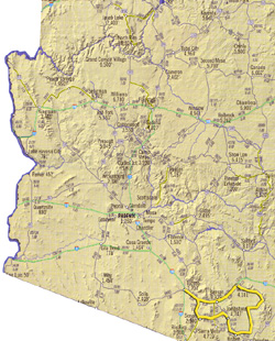 Süd-Arizona, Kultur und Wilder Westen