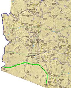 Routenvorschlag:De Anza Trail